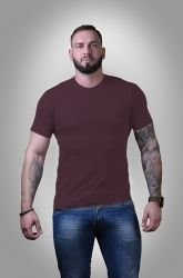 Футболка мужская Stedman basic burgundy red S - 3XL