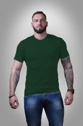 Футболка мужская Stedman basic bottle green S - 3XL