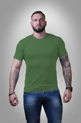 Футболка мужская Stedman basic hunters green S - 3XL